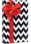 Black & White CHEVRON STRIPE Gift Wrap Wrapping Paper - 16ft Roll by Premium Quality Gift Wrap Paper, http://www.amazon.com/dp/B00E68S2UM/ref=cm_sw_r_pi_dp_GkEzsb0JHW1GA