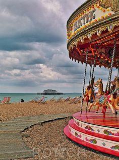Merry go round, Brighton pier
