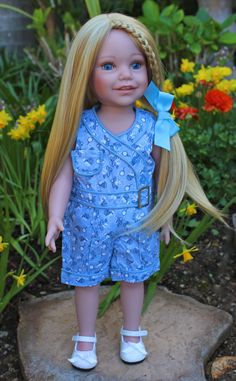 "18 inch Dolls and 18"" Doll Clothes available at www.harmonyclubdolls.com"