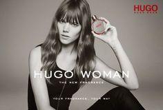 Freja Beha Erichsen for Hugo Boss Hugo Woman Scent | The Front Row View