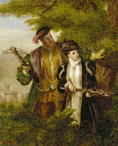 William Powell Frith, Anne Boleyn deer hunting with King Henry in Windsor forest, 1903
