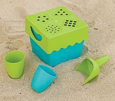 Zoe B Biodegradable Beach Toys #pbkids
