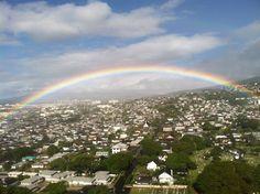 Rainbow from Craigside  Honolulu, Hawaii