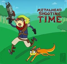 Jak and Daxter done as Adventure Time