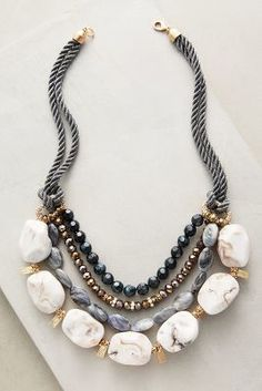 Anthropologie Bainbridge Layer Necklace