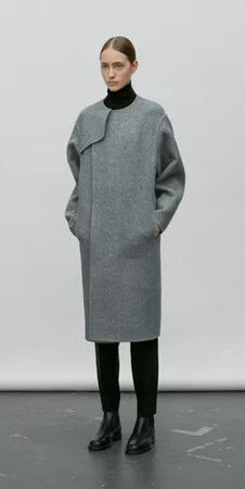 """DOUBLE FACED WOOL COAT"" https://sumally.com/p/1485918"