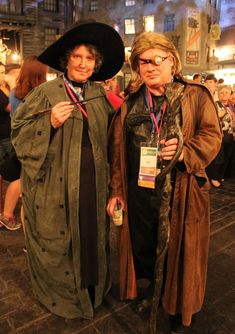 Professor McGonagall and Mad Eye Moody from Harry Potter | 36 Delightfully Geeky Cosplays From LeakyCon
