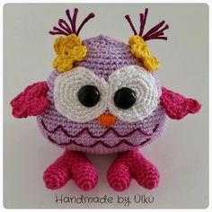 Amigurumi Baby Eule / Baby Owl / Yavru Baykuş