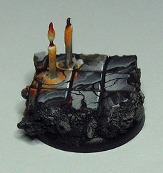 James Wappel Miniature Painting: Lighting a candle for you...