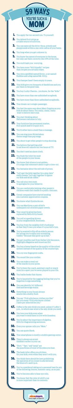 59 Ways You're SUCH A Mom
