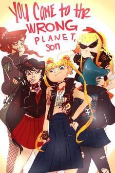 girl gang sailor moon - Google Search