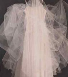 Judith Pond Kudlow - Tulle...unusual composition. Captures the essence of delicacy!