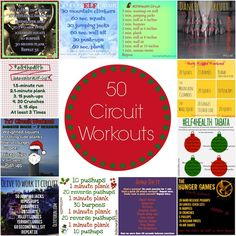 a compilation of FIFTY different circuit workouts
