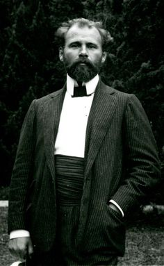 Gustav Klimt,1898. The Austrian artist had complicated relationships with his models Emilie Floge, Adele Bloch-Bauer and Herma