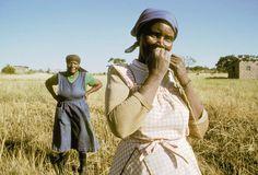South Africa. KwaZulu-Natal. Female farm workers Kwazulu Natal, South Africa, Creatures, Hipster, Colour, Female, Style, Fashion, Color