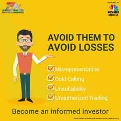 #StockMarketTip Be informed about your surroundings and avoid losses in the stock market. advisorymandi.com