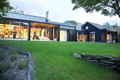 North facing and elegant, this property sits naturally in it's landscape.