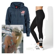 """""""Rain's arrival"""" by lilaloo ❤ liked on Polyvore featuring adidas"""