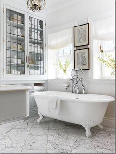 case e interni: 10 bagni con vasche a libera istallazione