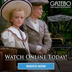 Escape the realities of today. with our brand new video on demand service, Gazebo TV! Watch all your Sullivan favourites, like Anne of Green Gables, Road To Avonlea, Wind At My Back and much more. Visit the Gazebo TV site for more info. Anne Movie, Road To Avonlea, Tv Watch, Video On Demand, Kindred Spirits, Anne Of Green Gables, Period Dramas, Watches Online, Movies And Tv Shows