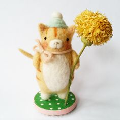 Jenn Docherty | Needle Felted Bears and Friends