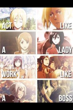 AOT girl power