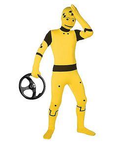 Super Skins® Crash Test Dummy Skin Suit Child Costume - Spirithalloween.com