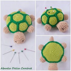 Alfiletero Tortuga | Turtle Pincushion