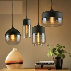 Iwhd Loft Industrial Style Led Ceiling Light Fixture Living Room Glass Ball Edison Vintage Ceiling Lamp Plafonnier Lampara Techo Pure And Mild Flavor Ceiling Lights & Fans