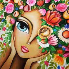 Paisley Art, Frida Art, Easy Canvas Painting, Acrylic Pouring Art, Indian Art Paintings, Ukrainian Art, Surrealism Painting, Arabic Art, Hippie Art