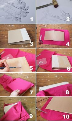 Baby girl fabric photo album dainty thangs i have made pinterest do it yourself solutioingenieria Images