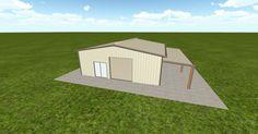 Dream #steelbuilding built using the #MuellerInc web-based 3D #design tool http://ift.tt/1LHSy4f