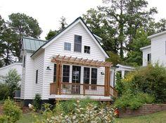 Modified Katrina Cottage by GMF + Associates | A Cottage Dream