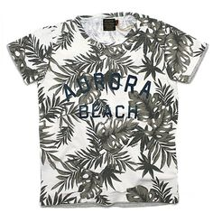 L.B.H vintage(エルビーエイチヴィンテージ):LEAF & CAMO Tシャツ リーフ柄オフ(1) の通販【ブランド子供服のミリバール】