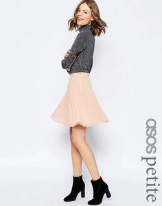 3c0f0b9223644 ASOS PETITE Pleated Mini Skirt Asos Skirts