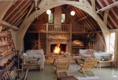 I want a cottage by a lake that looks just like this inside - Roderick James Architects