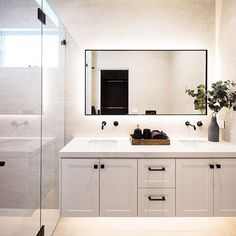 MTR Designer Cabinets - Melbourne Kitchen and Bathroom Design Calacatta Nuvo, Shaker Doors, Shower Surround, Custom Built Homes, Double Vanity, Design, Home Decor, It's Amazing, Park College