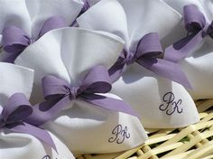 my lilac themed wedding favors