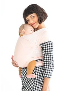 Solly Baby Wrap, perfect for moms on-the-go!