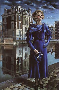 Carel Willink - Portrait of Wilma - 1932.