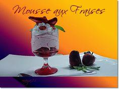 Mousse de fraises au fromage blanc - Blogdoumaya