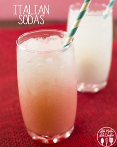 Mmm I love Italian sodas and now I can make them at home without all the worry!