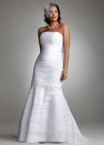 Because being over weight doesn't mean that you can't have a nice wedding dress