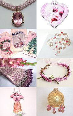 Statteam and Friends Prescious Pinks by Lorraine on Etsy--Pinned with TreasuryPin.com
