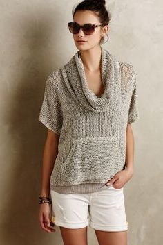 Saturday/Sunday Sapin Cowl Pullover #anthrofave