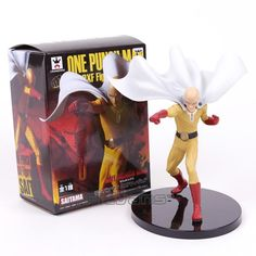 One Punch Man - Saitama Fighting Ver. Action Figure Collectible Toy (20cm)