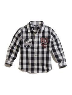 Roque Buffalo Check Shirt (4-16)