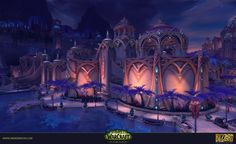 This is one of the two dungeons I made for Legion.  Court of Stars is the Noble…