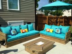 Diy Outdoor Furniture ana white | outdoor 2x4 sofas - diy projects | outdoor furniture