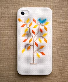 Cross-Stitch Your Own iPhone Case | Brit + Co.